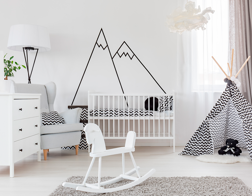 Leuke babykamer inrichten