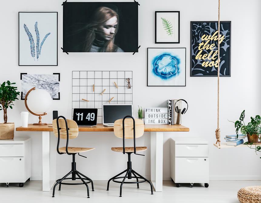 Je eigen stijl thuiswerkplek