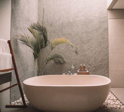 Goede badkamerverlichting interieur