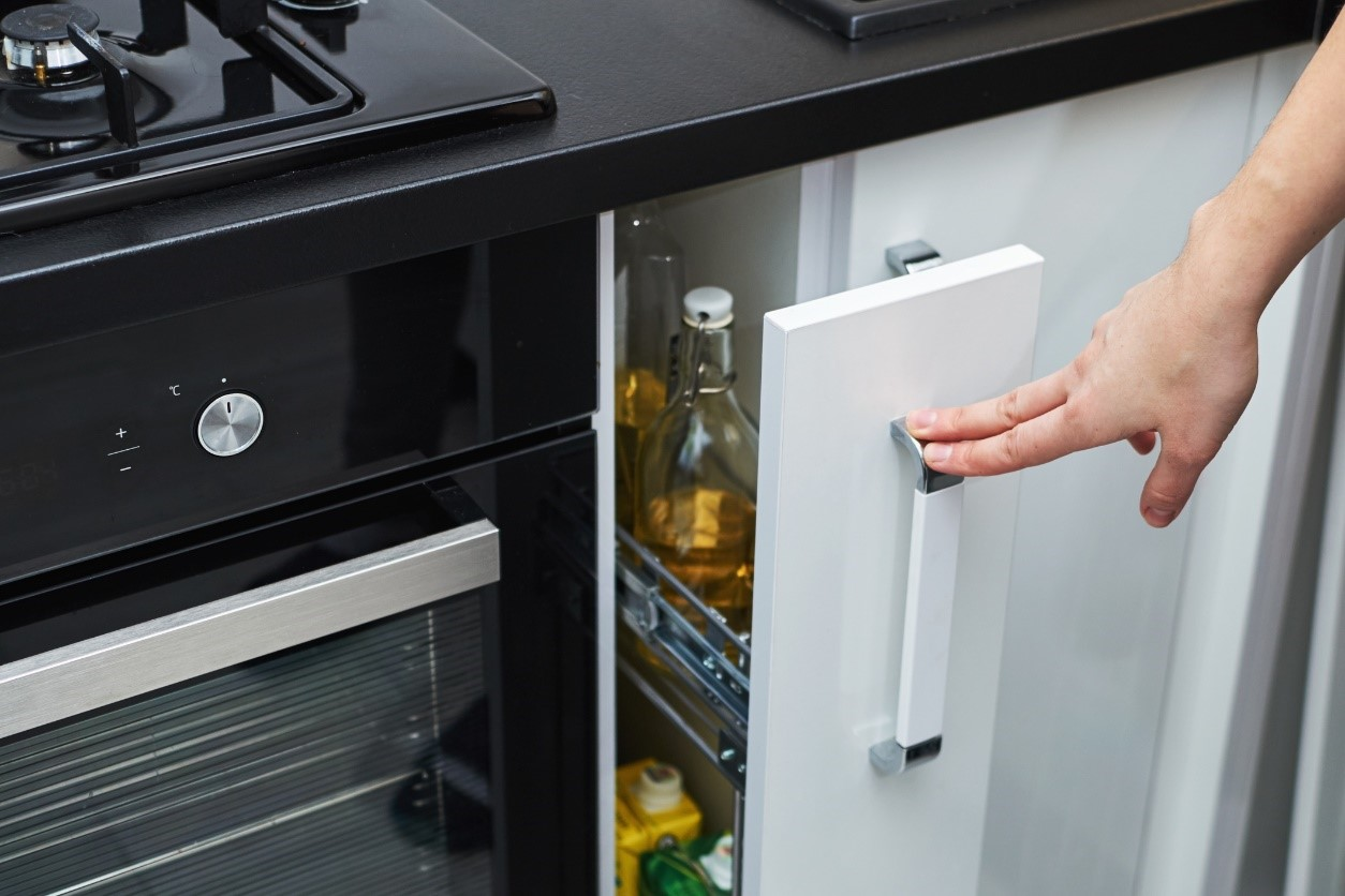 slimme opslagmogelijkheden in de keuken
