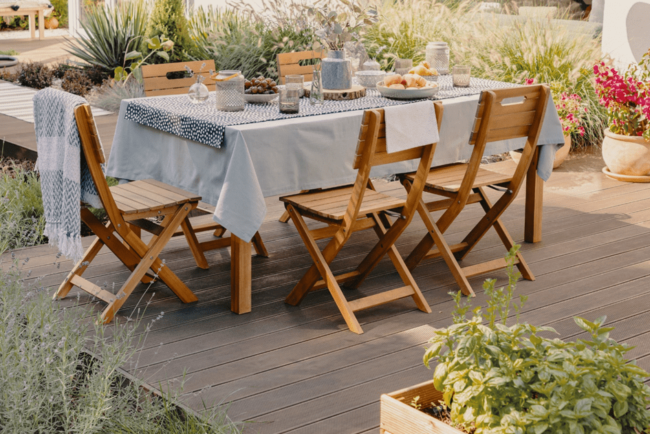 Investeren in je tuinset