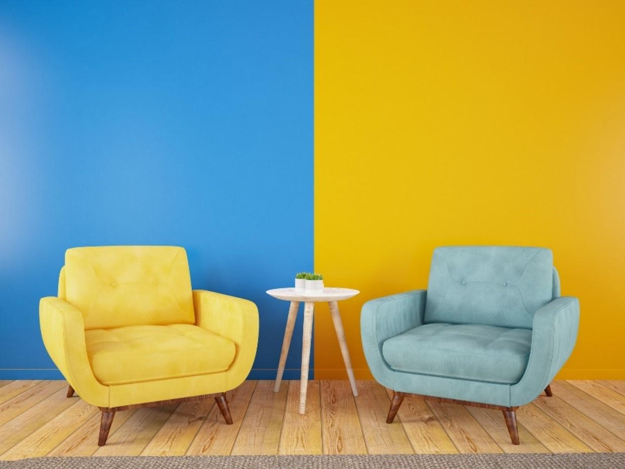 contrast in interieur