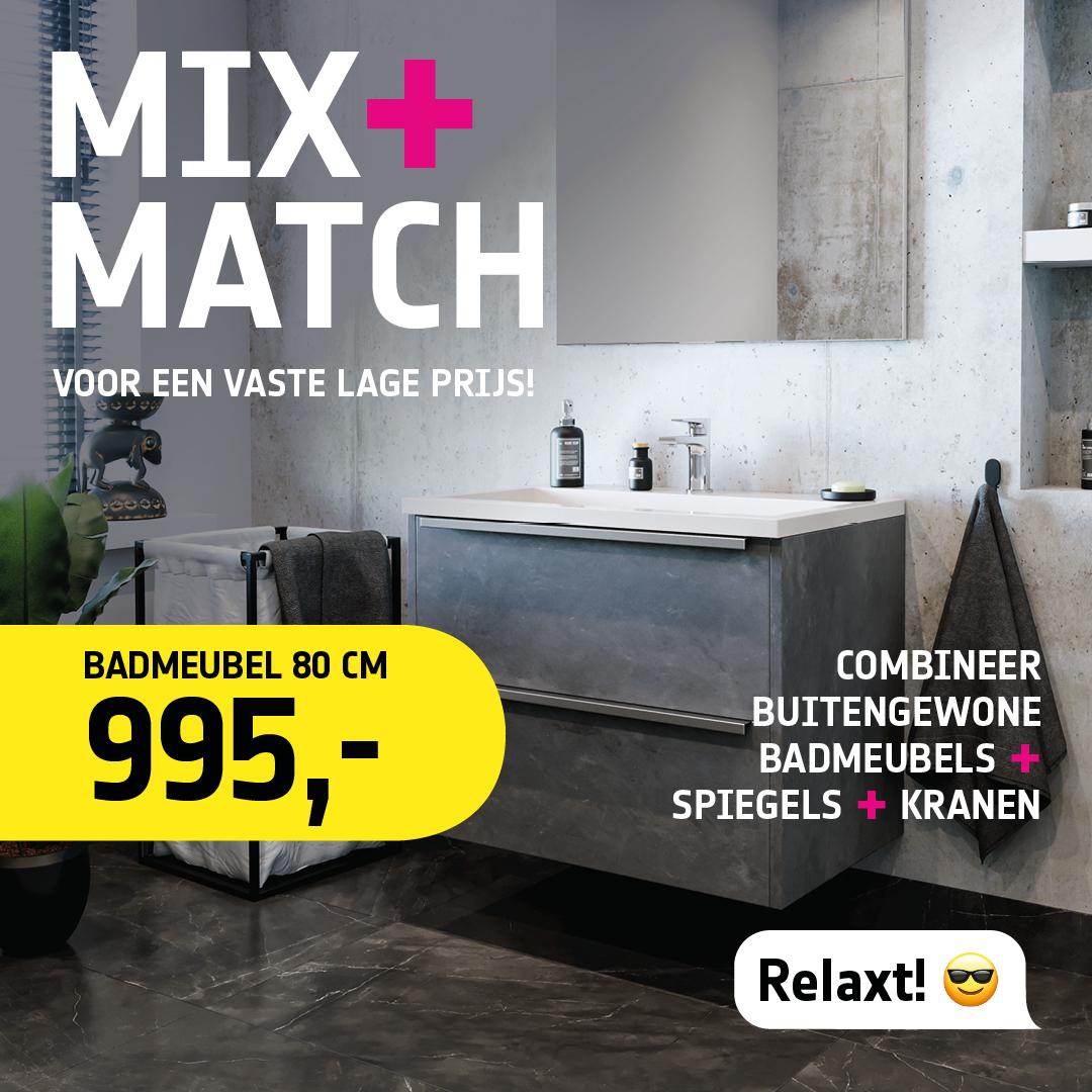 actie sanidirect mix + match