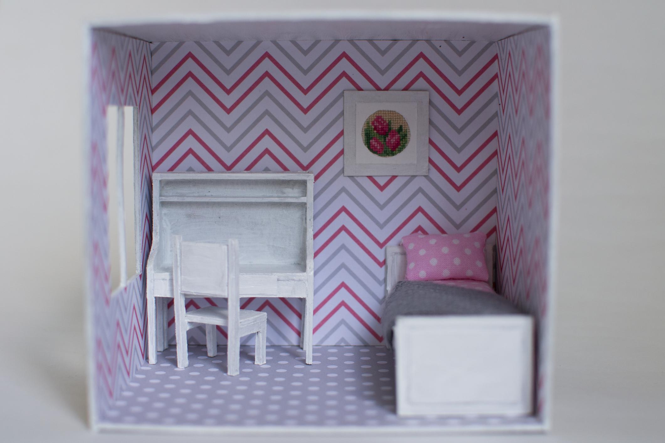 Poppenhuis DIY kinderkamer