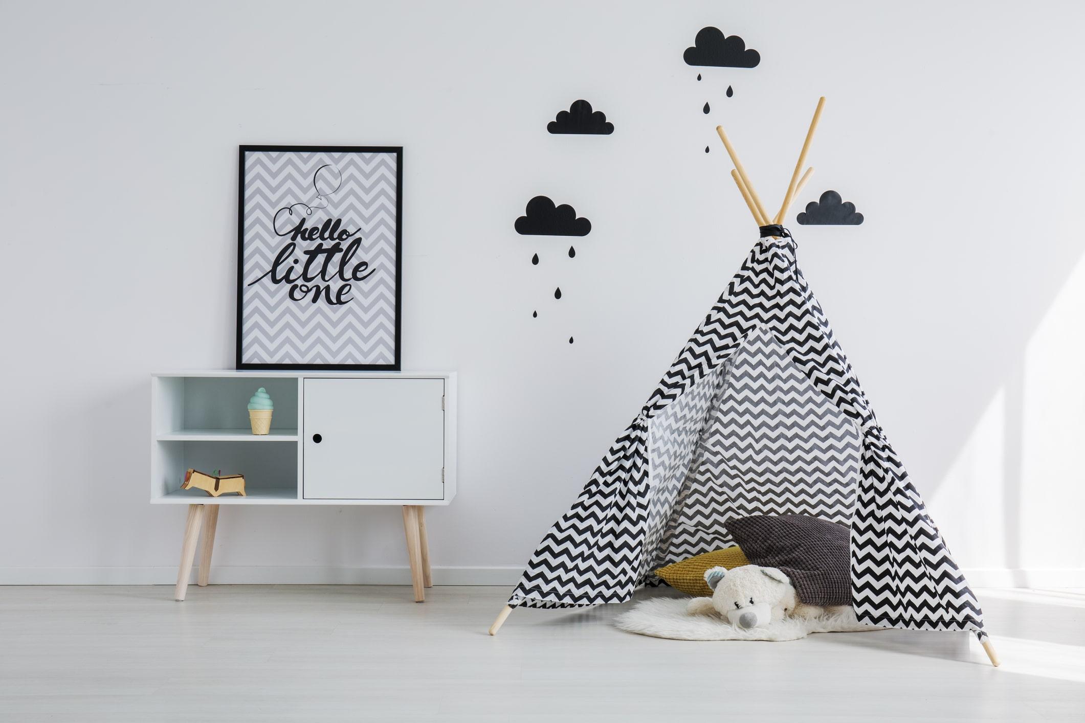 Blog kinderkamer inspiratie tipi DIY